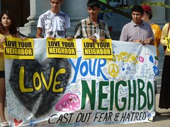 Love Your Neighbor banner