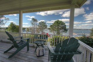 Oceanfront Cottage porch