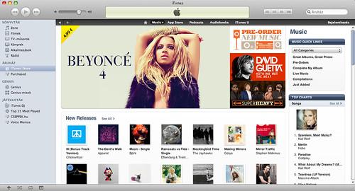 iTunes Store Magyarország