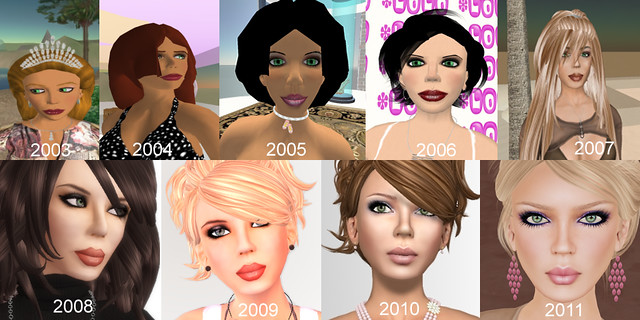 Evolution Caroline Apollo 2003 to 2011