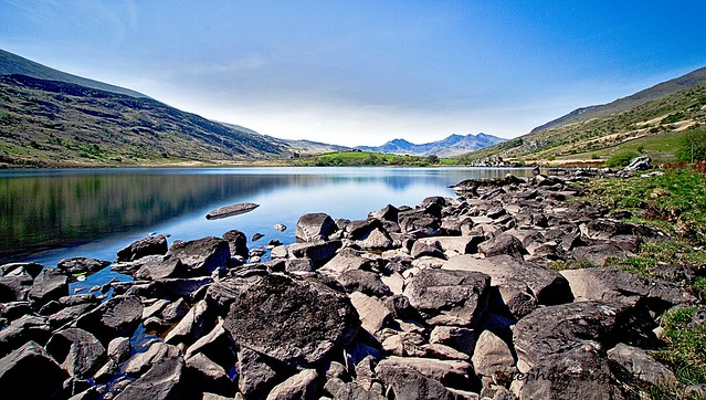 Llyn Mywbr, 6 Capel Curig,Snowdonia National Park, North Wales,UK.
