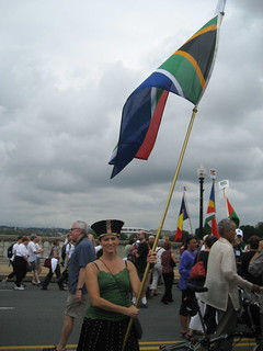 Parade of Flags-South Africa