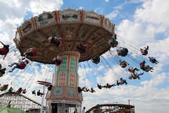 ferris wheel(0.0), park(0.0), tourist attraction(1.0), recreation(1.0), outdoor recreation(1.0), landmark(1.0), carousel(1.0), amusement ride(1.0), amusement park(1.0),
