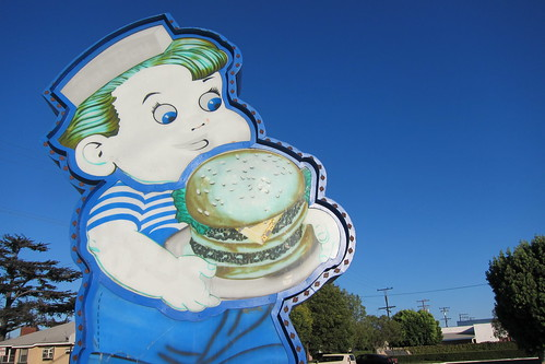 Bob's Big Boy: Fat Boy Sign