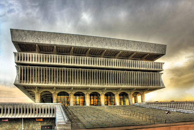 Albany N.Y. - Empire State Plaza - Cultural Education Center 03