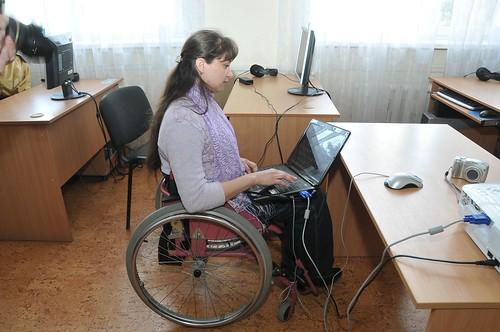 Luhansk mobile computer centre, Ukraine