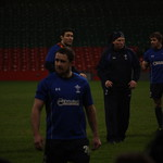 Shane Williams, Stephen Jones, Neil Jenkins and Leigh Halfpenny