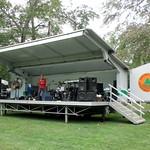 Mobile Sound Shell Stage, Highland Memorial Park, Harrington Park, New Jersey