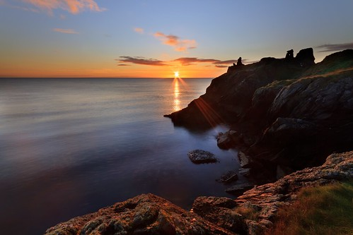 ireland sea irish seascape black castle sunrise canon dawn town sigma 7d wicklow 1020 nd8