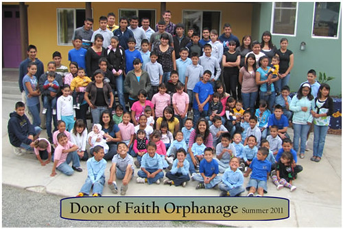 10 orphans head back to school orange plaza rotary for Door of faith orphanage