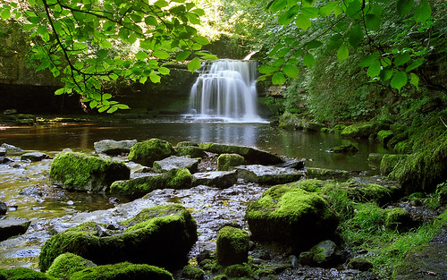 West Burton Waterfalls, (Cauldron Falls), Yorkshire, UK | Picturesque waterfalls in the Yorkshire Dales (7 of 10)