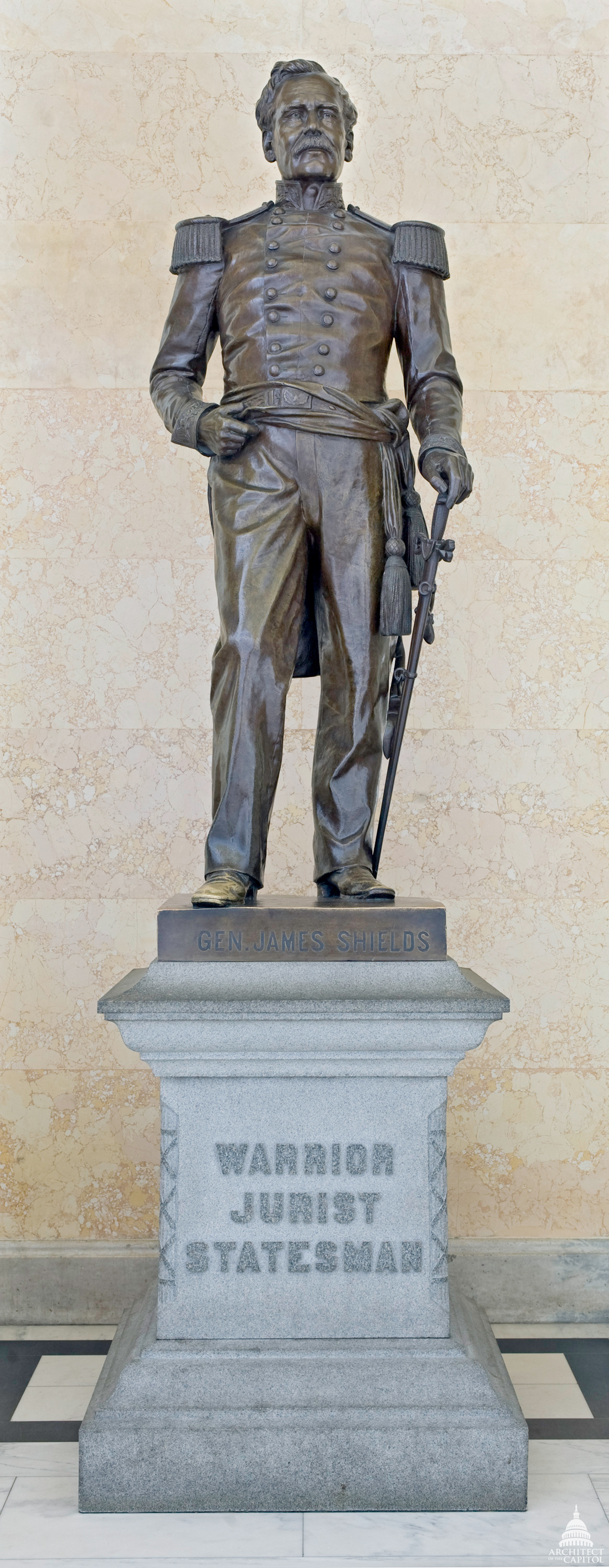 James Shields Architect Of The Capitol