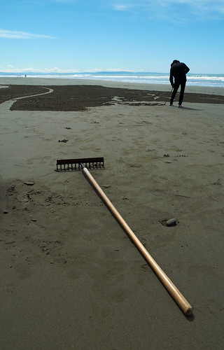The Sand Artist's Big Brush