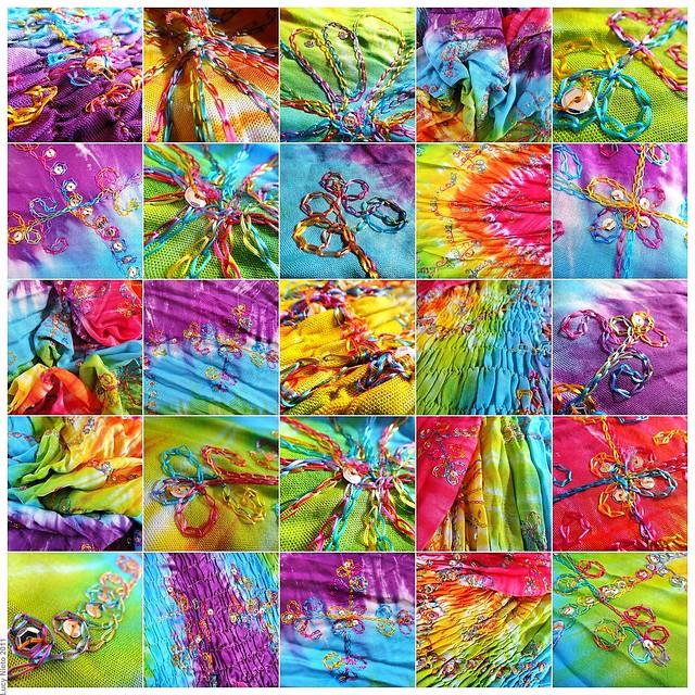 Mosaico tela de colores i 110912 med 1 vestido de - Mosaicos de colores ...