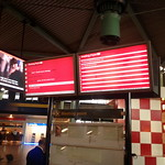 screens at Schipol