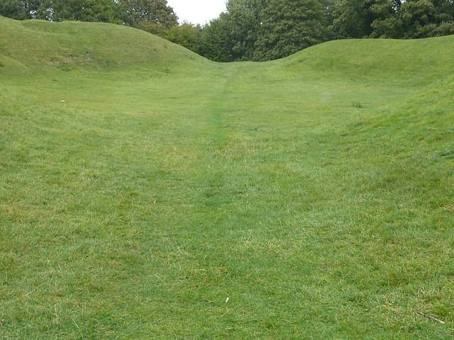 Roman Ampitheatre at Cirencester, England
