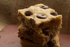 Peanut Butter Cup Blondies