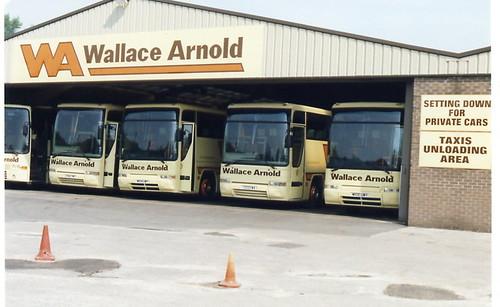 Wallace Arnold Coach Tours Uk