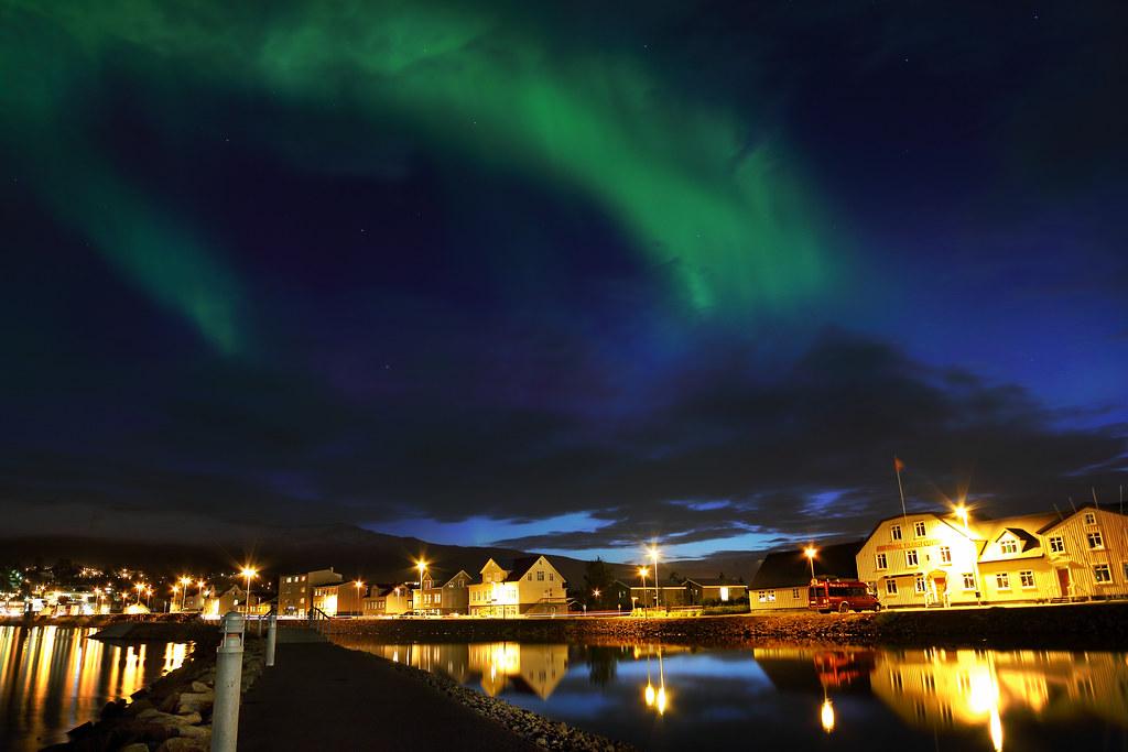 Akureyri Aurora Borealis