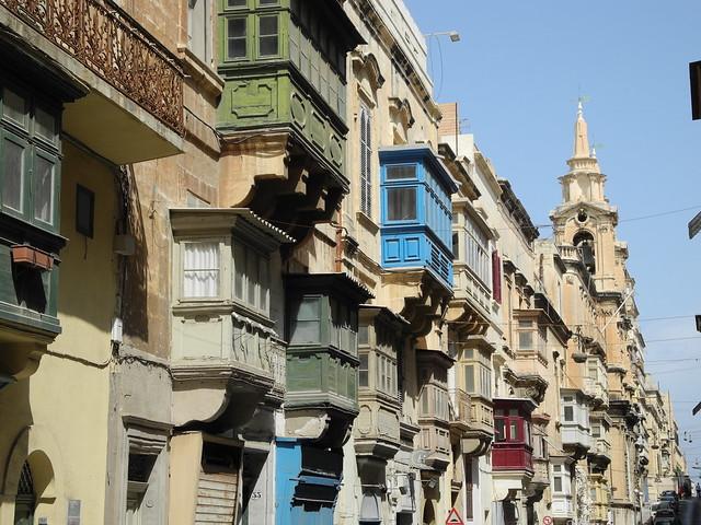 Balkons op Malta