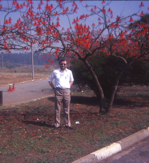 A younger me long ago and far away (Working in Brazil)!