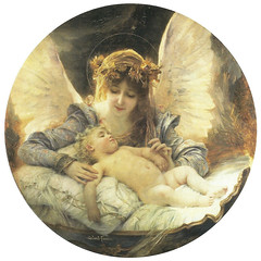 "Gabriel-Joseph-Marie-Augustin Ferrier (French, 1847-1914), ""The Guardian Angel"""