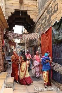 Jaisalmer - Scene inside the Fort