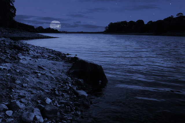 Moon River, (not) wider than a mile. | Fernilee reservoir, n ...