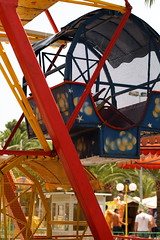 recreation(0.0), outdoor recreation(0.0), playground(0.0), ferris wheel(0.0), park(0.0), roller coaster(0.0), tourist attraction(1.0), leisure(1.0), fair(1.0), amusement ride(1.0), amusement park(1.0),