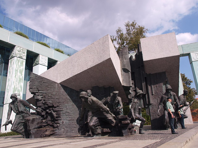 Warsaw :: Momument to Warsaw Uprising from Flickr via Wylio