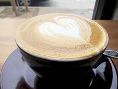 Latte at Sightglass Coffee