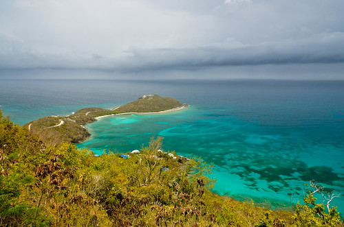 View of Rendezvous Bay - St. John - US Virgin Islands - USVI