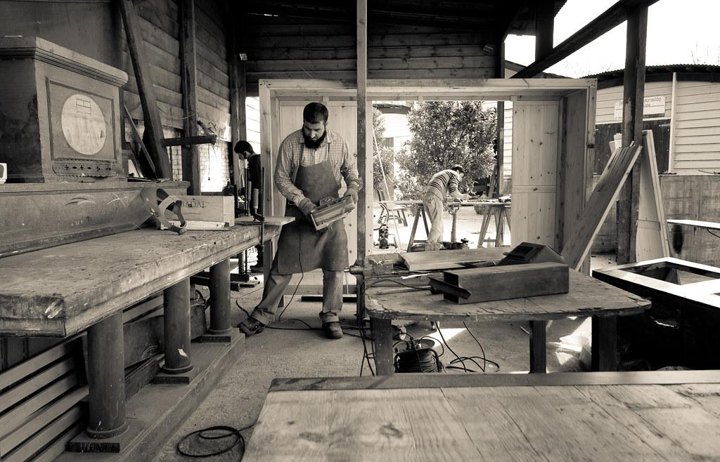 Taller fusta restauració