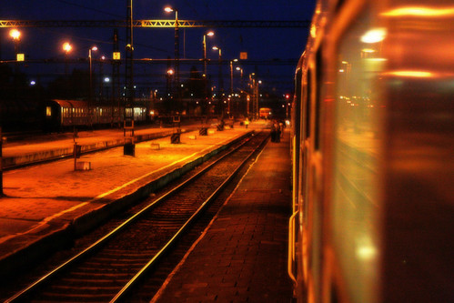 train hungary trainstation békéscsaba