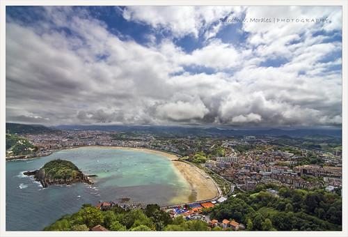 San Sebastián.Bahía de la Concha.