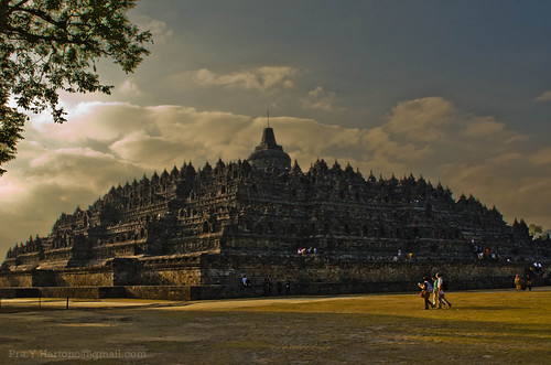 Photo of Borobudur Temple, Magelang, Central Java, Indonesia