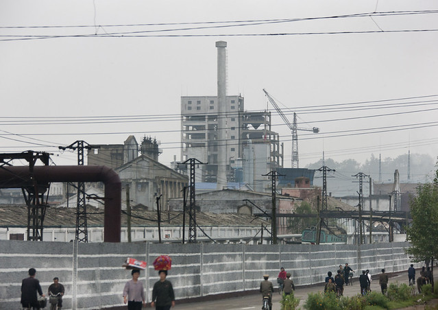 Hamhung chemical factory - North Korea