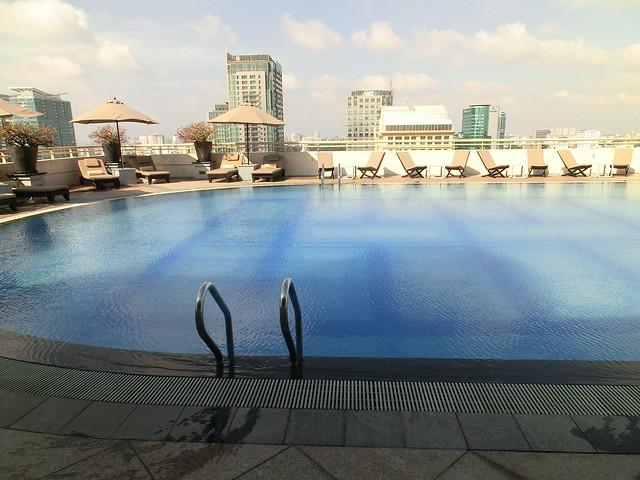 Pool - Sofitel Saigon Plaza - Ho Chi Minh City, Vietnam