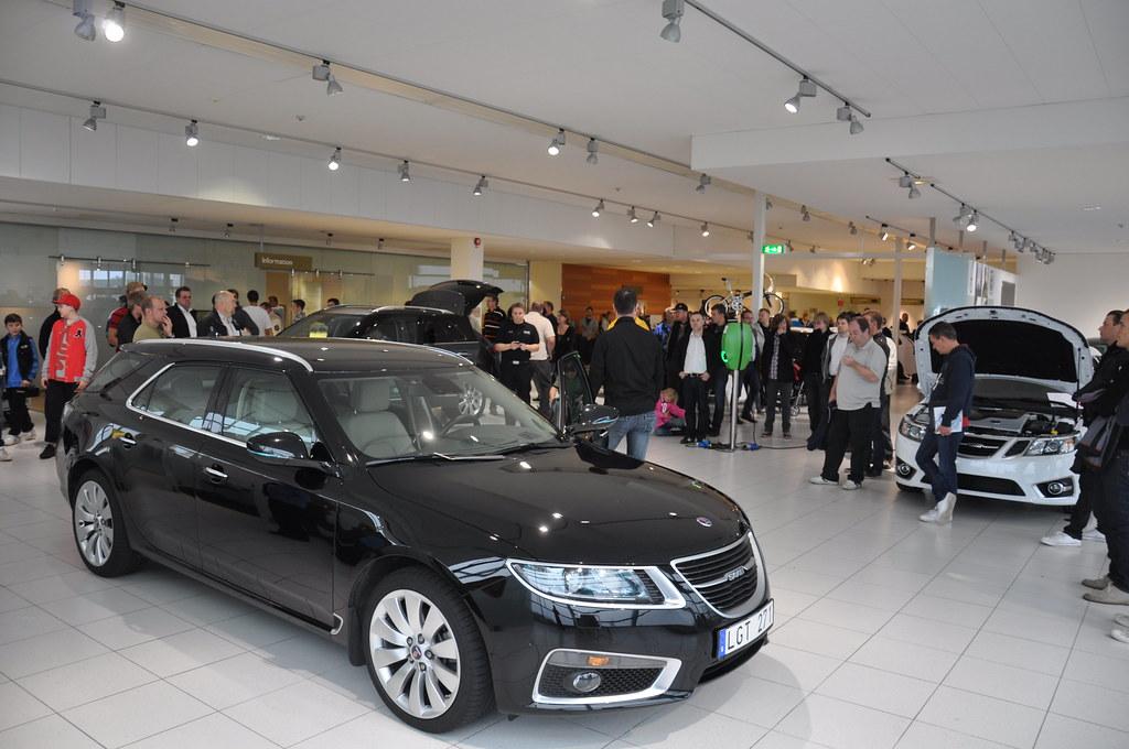 New Saab 9-5 Sportcombi