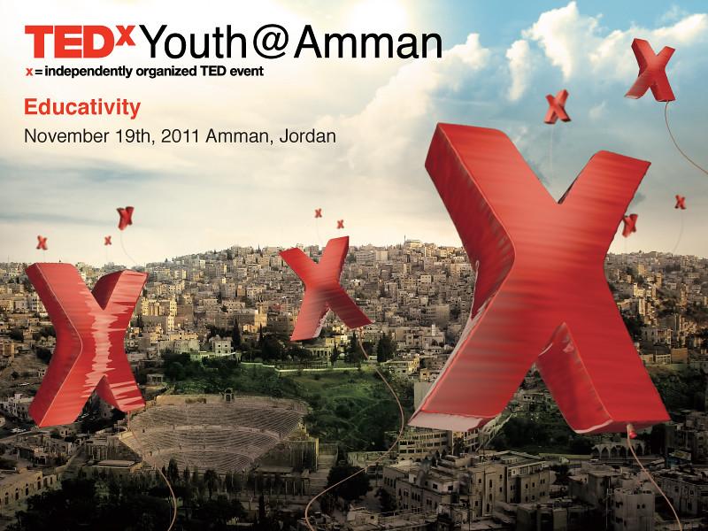 TEDxYouth@Amman Sticker