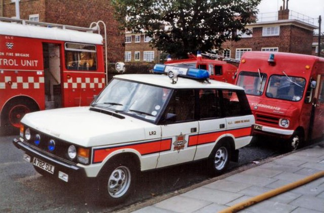 -London Fire Brigade  Paddington's Forward Command Unit