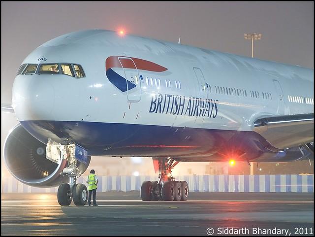 British Airways Boeing 777-300ER (G-STBB)