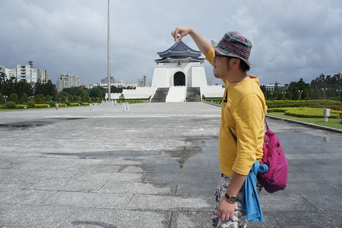 [台湾2.5] 中正紀念堂で定番の撮影