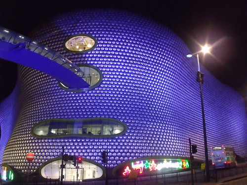 Selfridges, Birmingham - Parametric bridge by ell brown