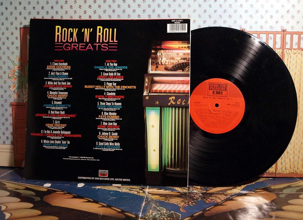 rock 'n' roll greats.,