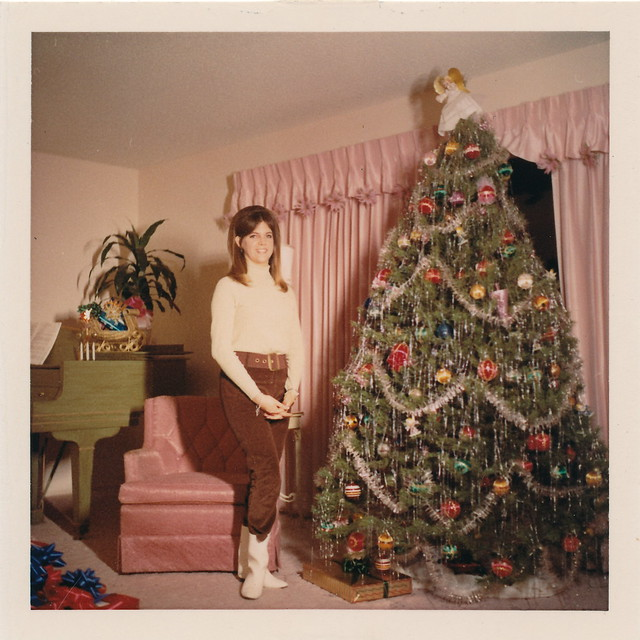 Go go boots a piano and a christmas tree flickr photo for American style christmas decorations