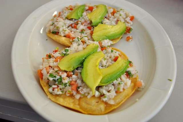 Ceviche Tostada | Explore nycblondieandbrownie's photos on F ...