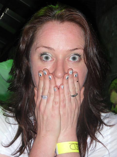 shock! piano nail art