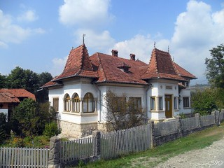 Romania- Arges-peasant house -traditional -