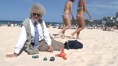 The Prof at Bondi Beach